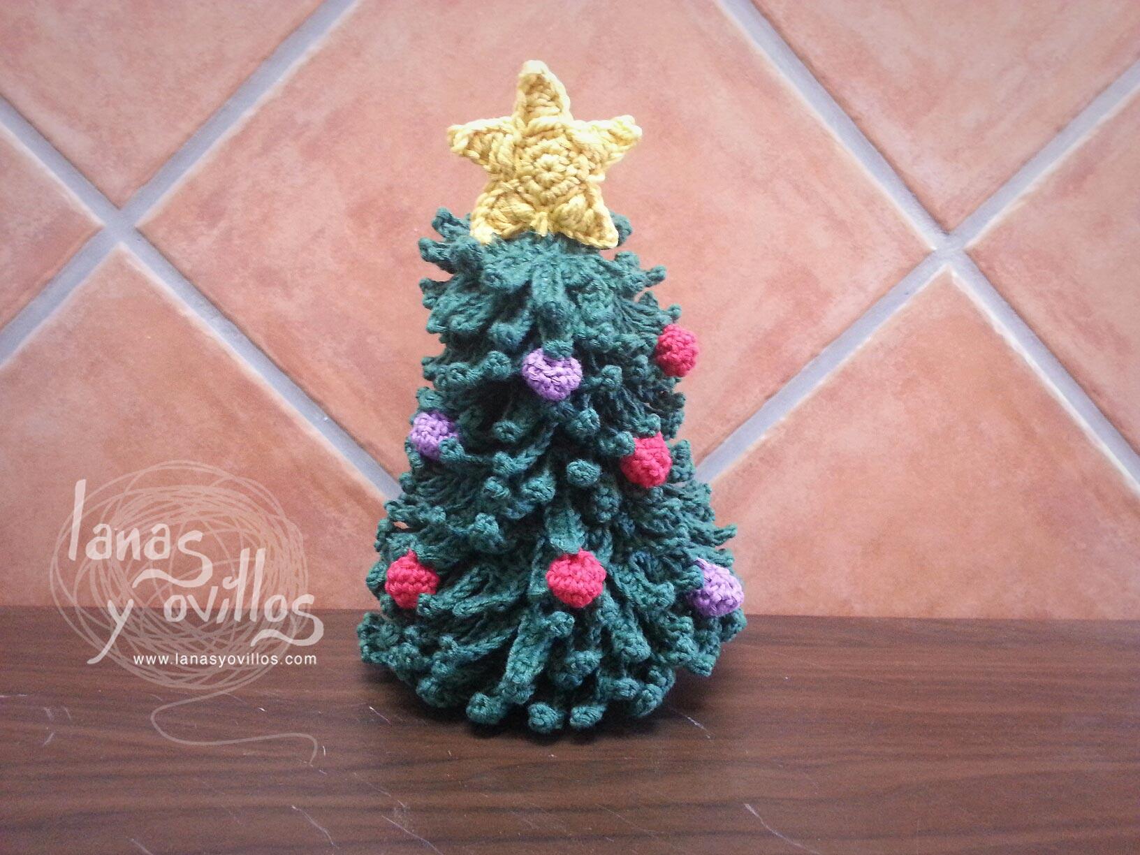 christmas tree crochet free pattern