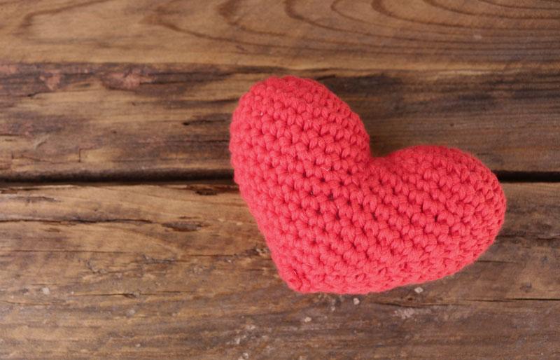 crochet heart amigurumi free pattern