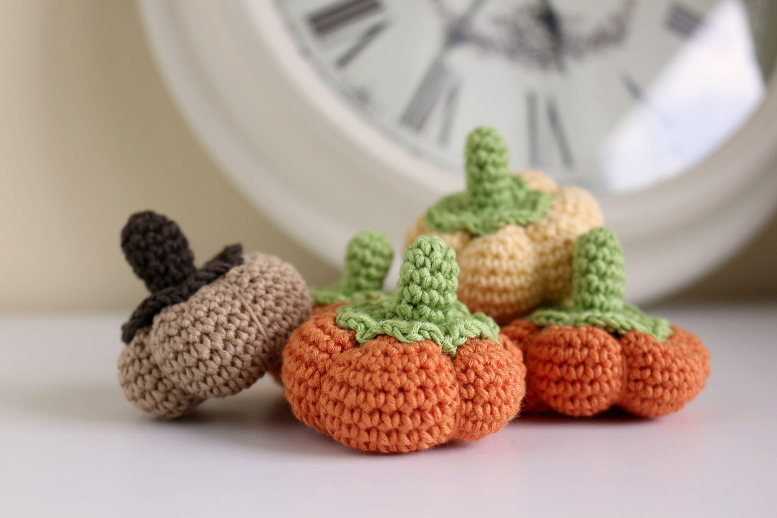 pumkin amigurumi crochet free pattern with video tutorial step by step
