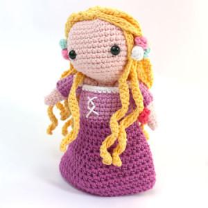 rapunzel princess disney amigurumi pattern crochet free