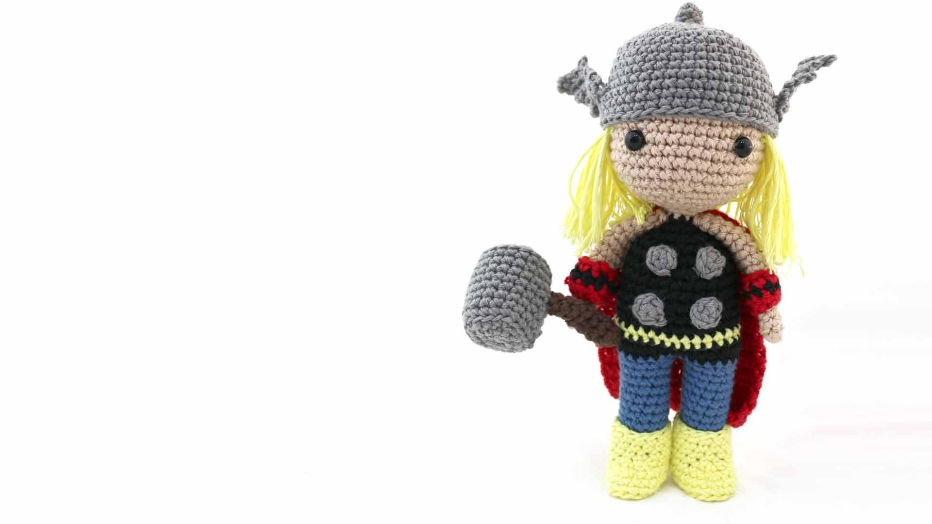 thor avengers marvel amigurumi free pattern crochet