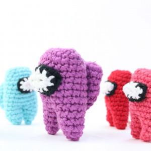 among us crochet amigurumi free pattern