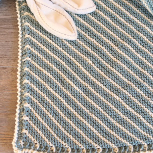 easy baby blanket knitting free pattern