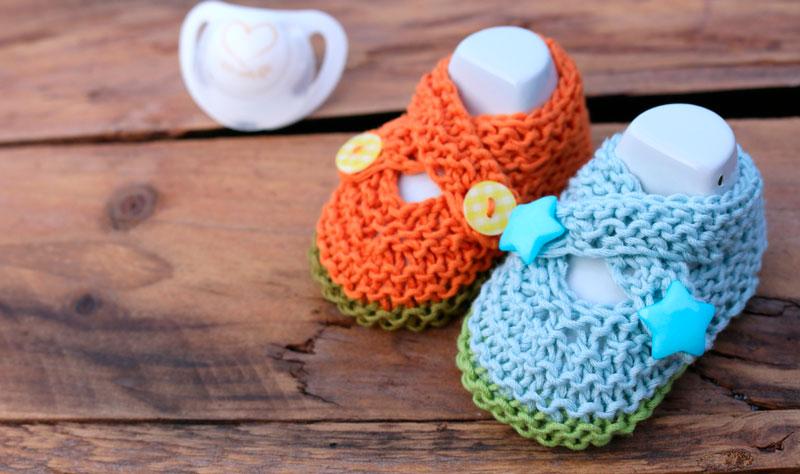 baby knitting shoes free pattern