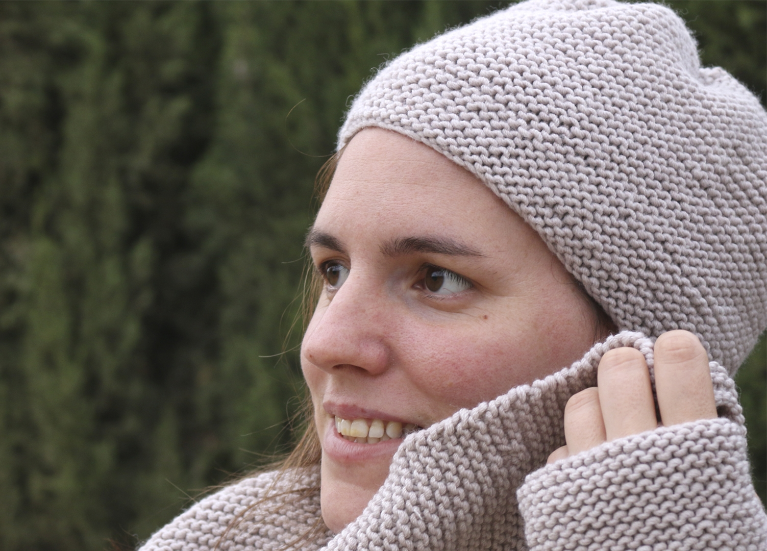 super easy baby knitting hat free pattern