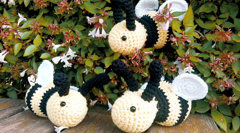bee amigurumi free pattern crochet