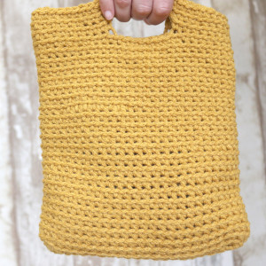 crochet bag easy free pattern