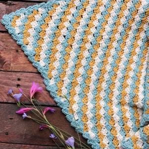 c2c blanket free crochet pattern