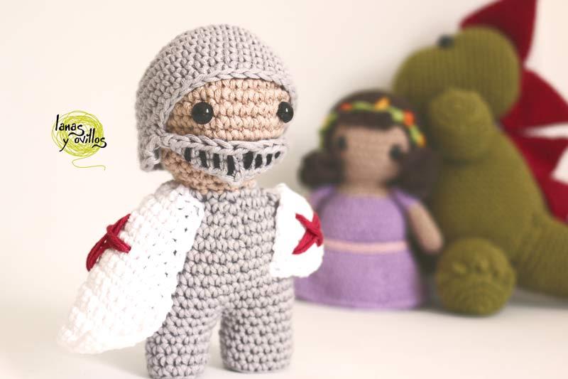 knight amigurumi crochet free pattern sant jordi san jorge