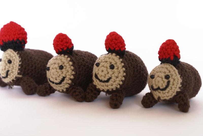 caga tio patron ganchillo crochet free pattern
