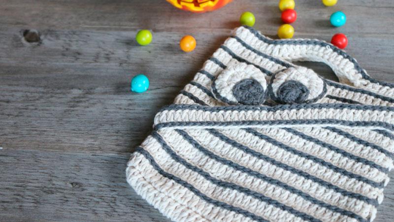 halloween sweet bab basket free crochet pattern