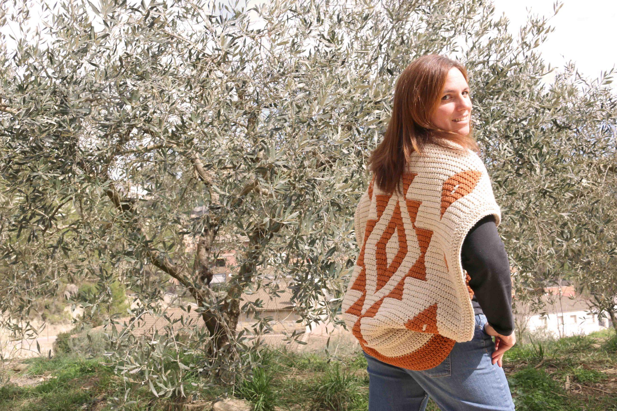 gea jacket free crochet pattern mosaic crochet