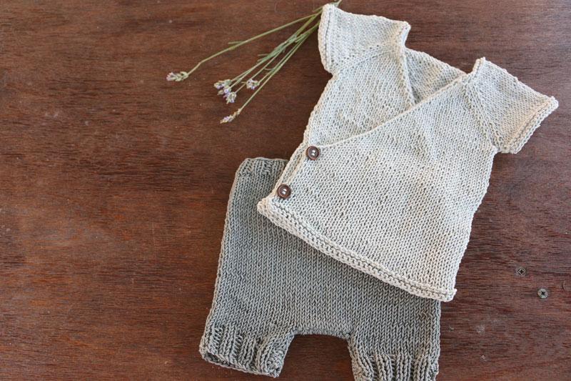 baby kimono pants free knitting pattern