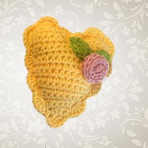 vintage heart crochet valentines free pattern