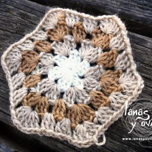 hexagon granny square free pattern crochet