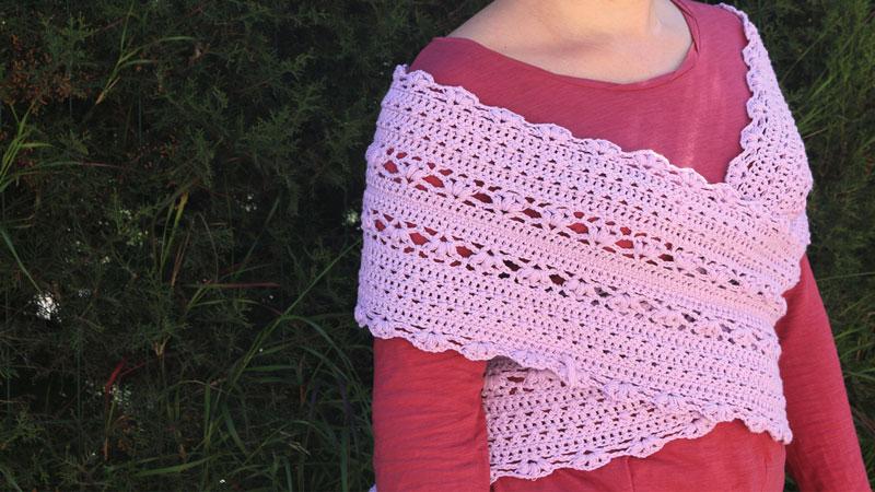 crossed vest crochet free pattern