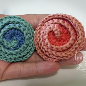 deco rose flower crochet free pattern