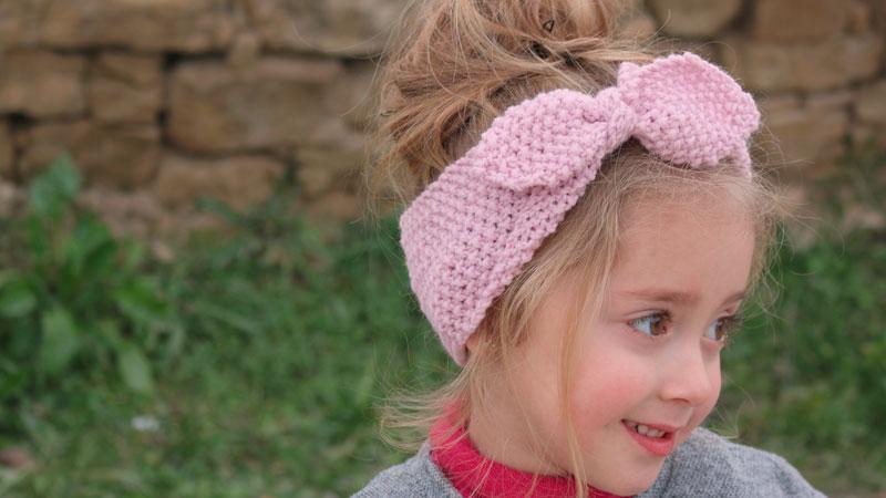 easy girl knitting headband free pattern