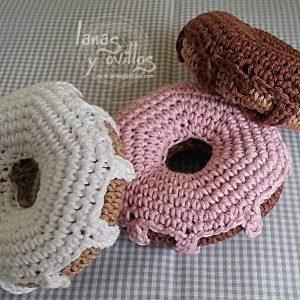 doughnut amigurumi crochet free pattern with video tutorial