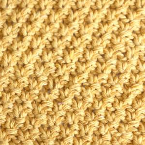 knitting double seed moss stitch free pattern