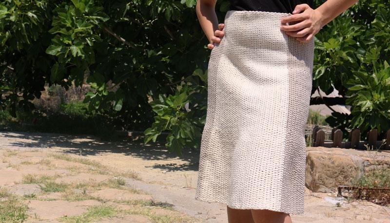skirt crochet free pattern