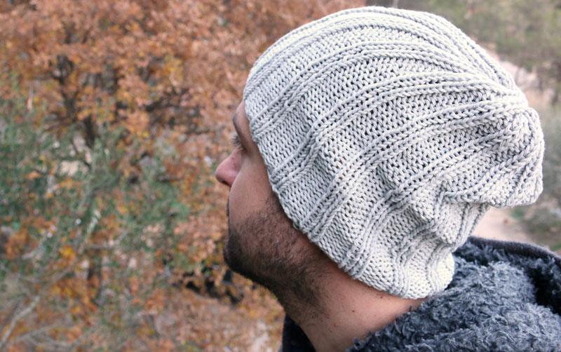 free knitting slouchy hat pattern