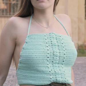 easy crochet top free pattern