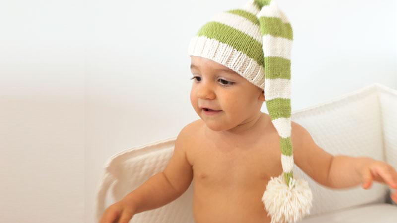 elf hat knitting christmas free pattern