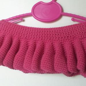 easy crochet girl skirt pattern
