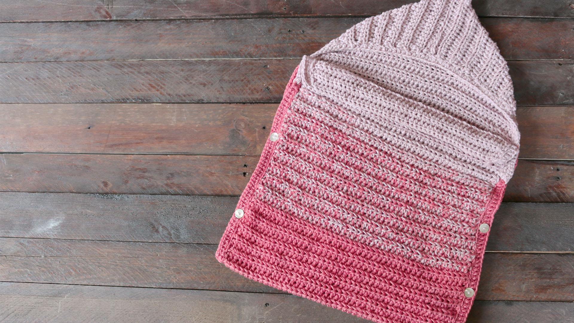 baby cocoon crochet free pattern