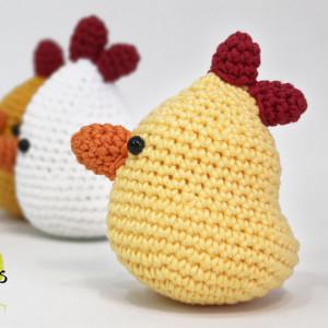 hen chicken amigurumi free pattern crochet easter