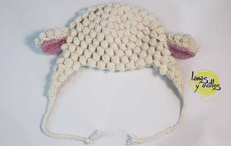 crochet lamb hat baby free pattern