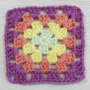 basic granny square free pattern