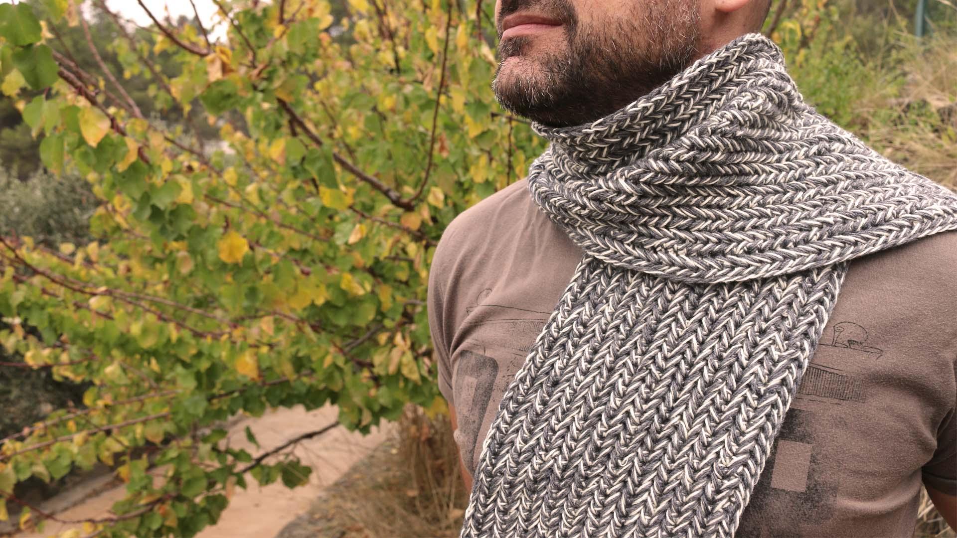 herringbone crochet scarf sttich free pattern crochet