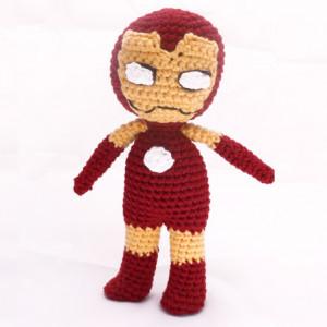 ironman amigurumi mervel free pattern crochet