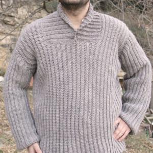 man jumper crochet free pattern