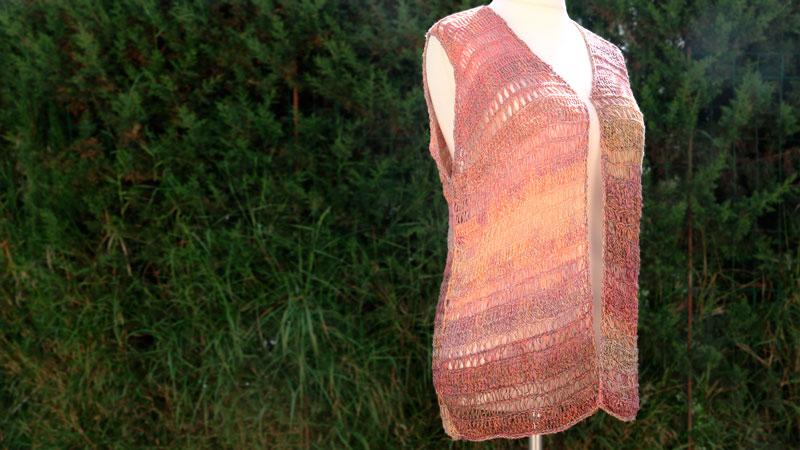 easy kimono lace vest crochet pattern
