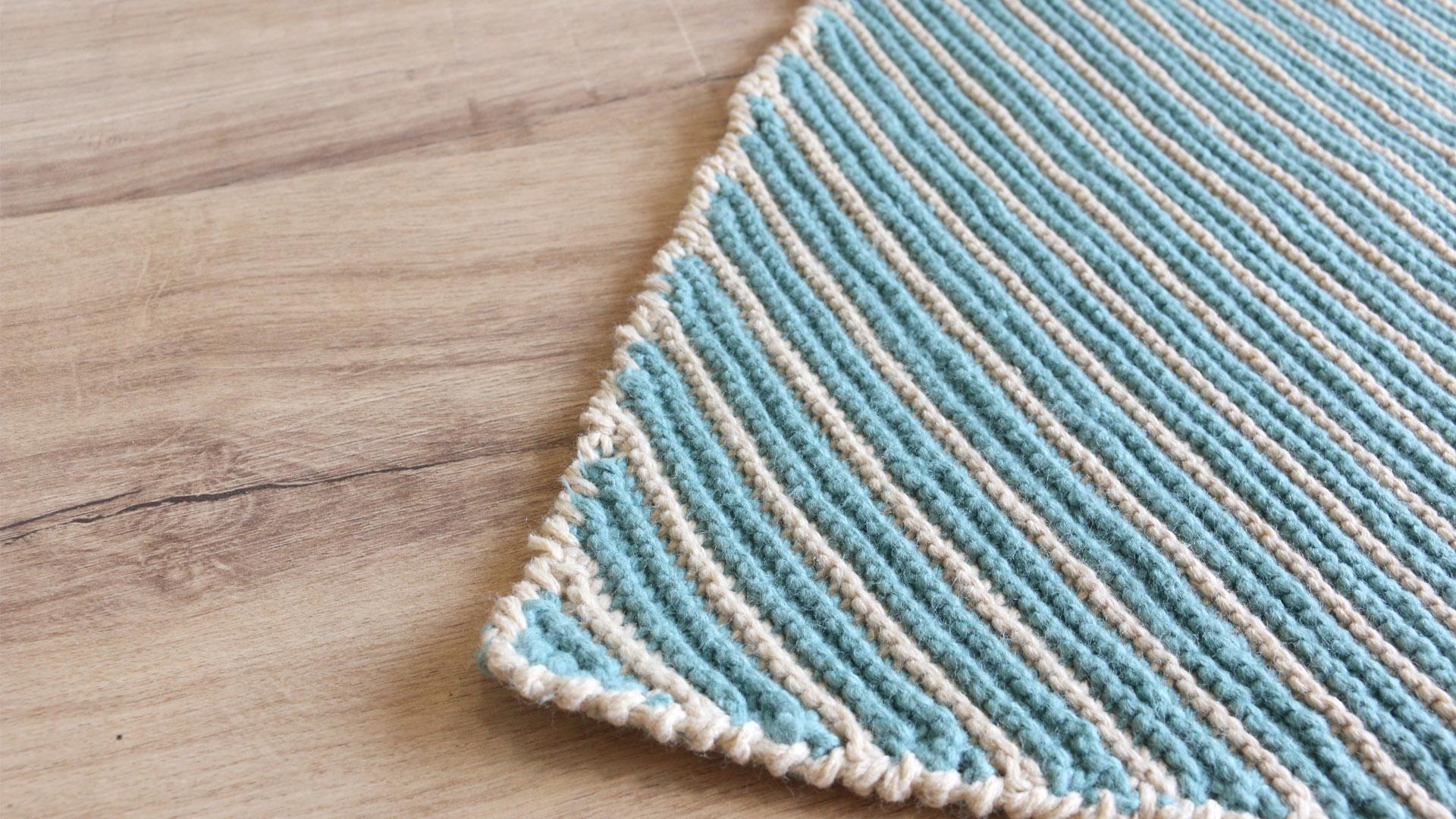 crochet garter stitch blanket free pattern