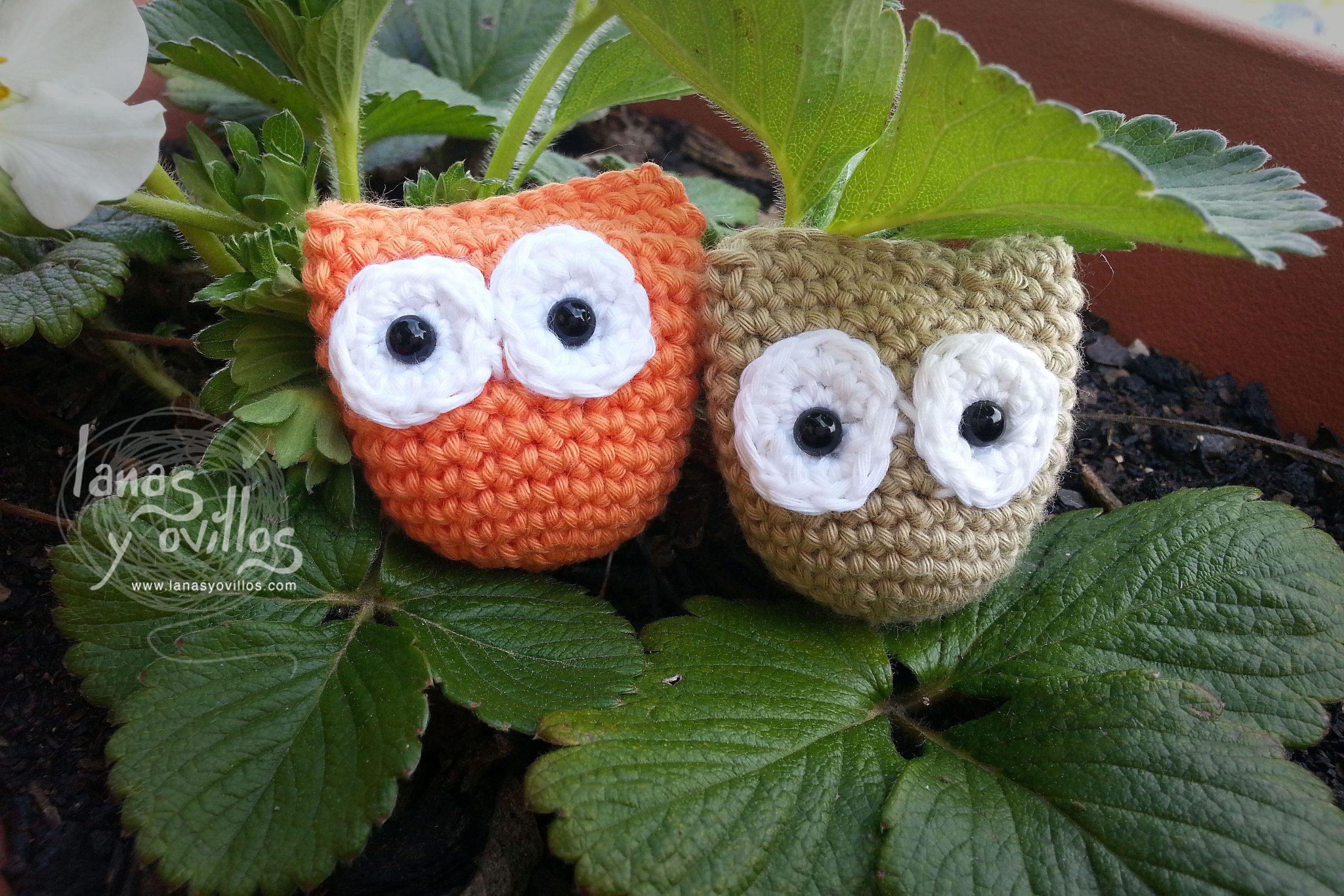 tiny owl amigurumi free pattern with video tutorial