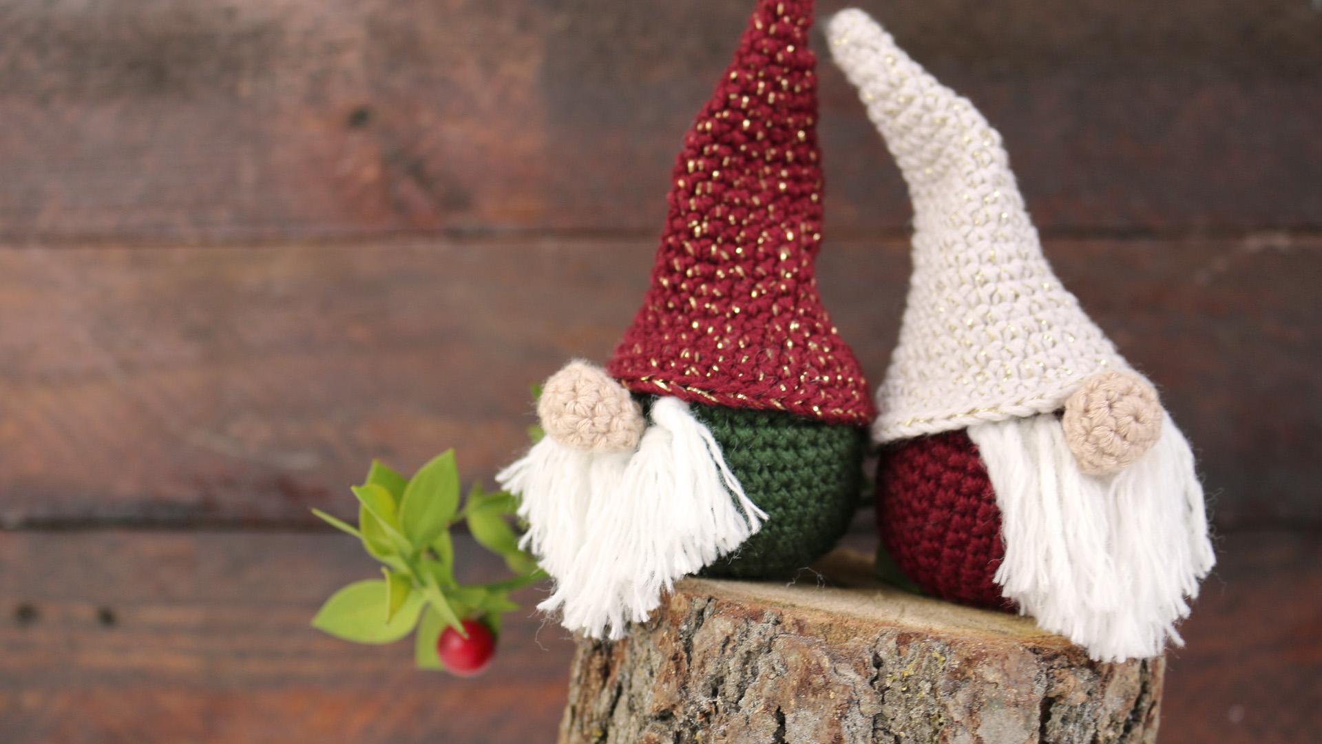nordic gnome amigurumi crochet christmas free pattern