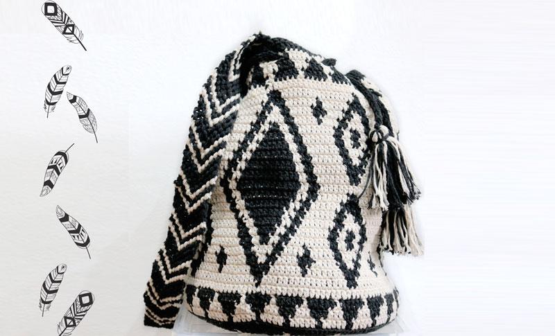 wayuu bag ethnic mochila crochet free pattern