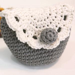 vintage crochet purse free pattern