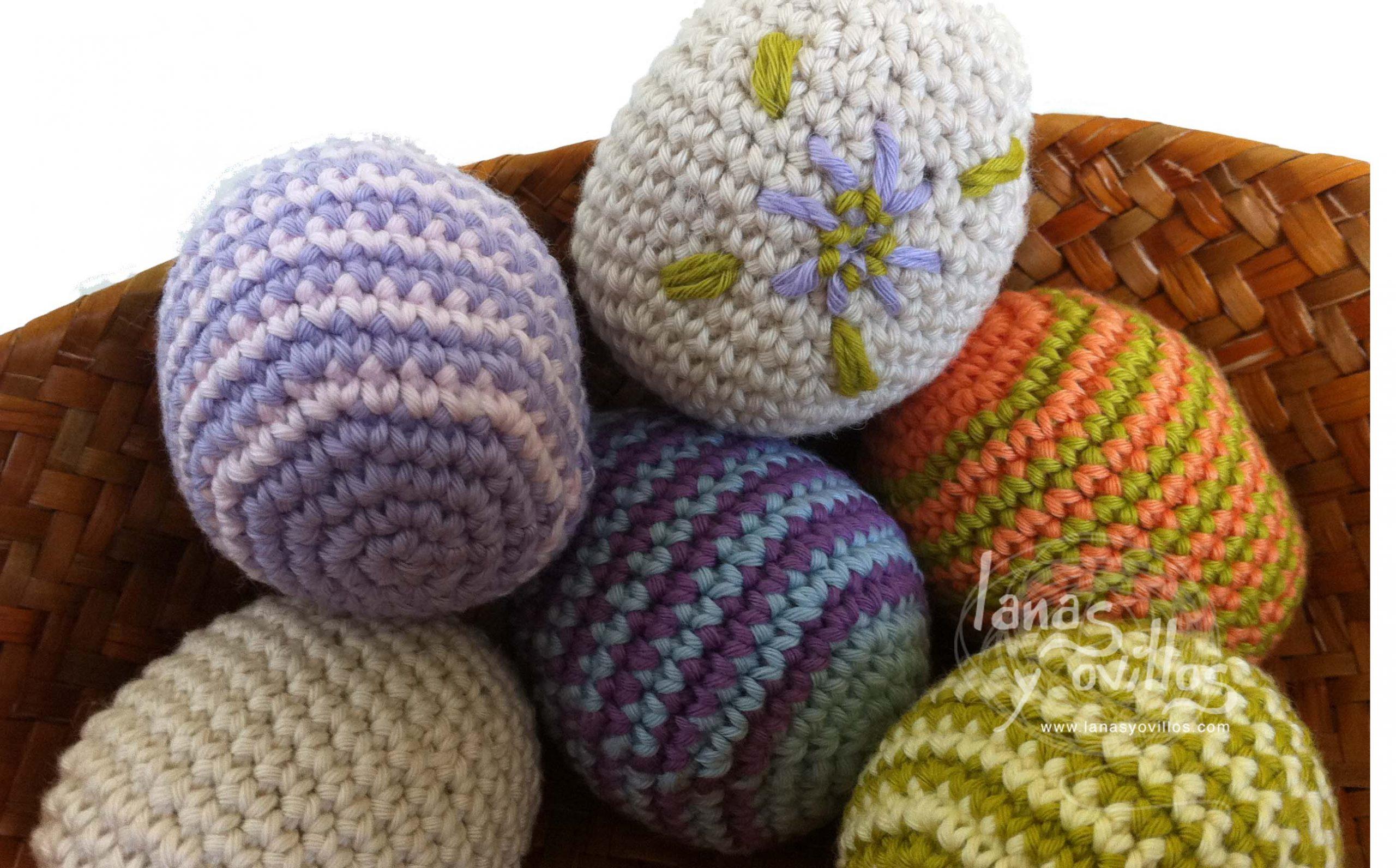 easter eggs amigurumi crochet free pattern with video tutorial