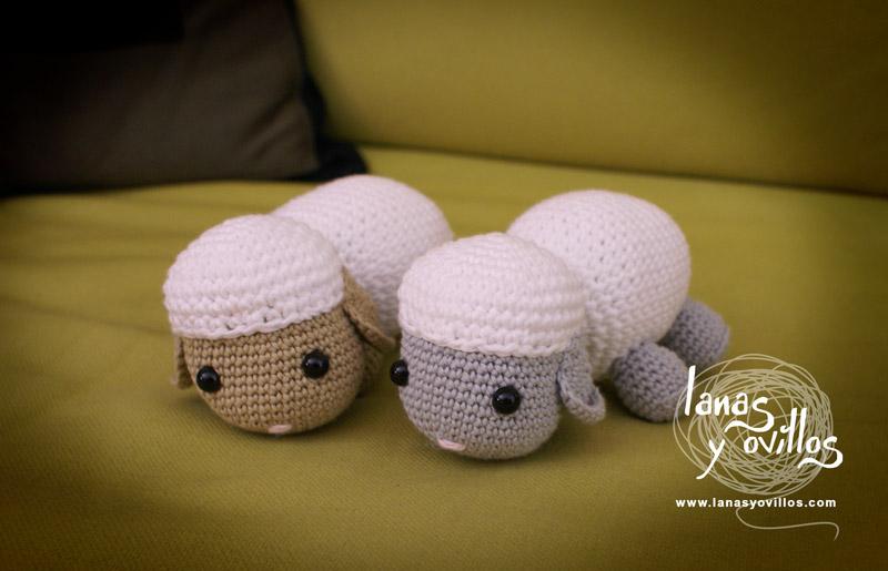 crochet sheep amigurumi free pattern with video tutorial