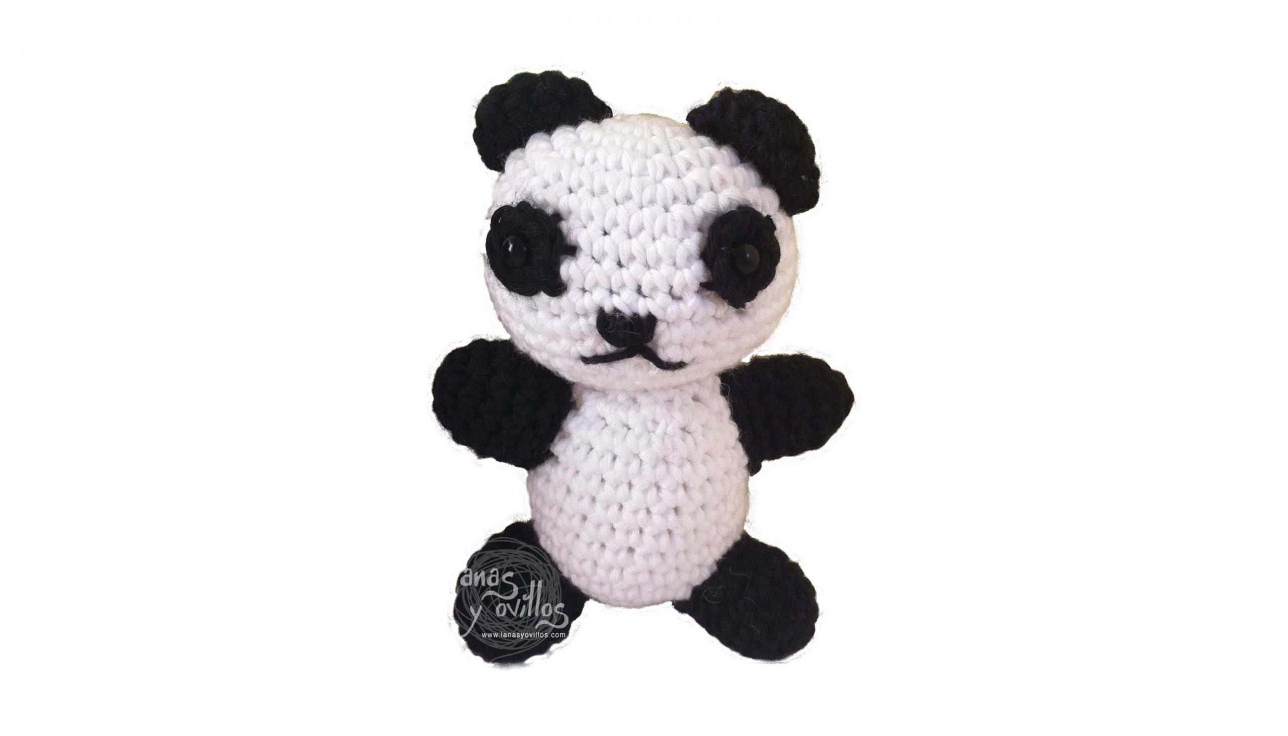 panda amigurumi free pattern crochet