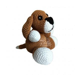dog amigurumi free pattern with video tutorial
