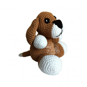 dog amigurumi free pattern