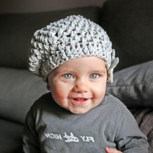 easy baby crochet beret hat free pattern