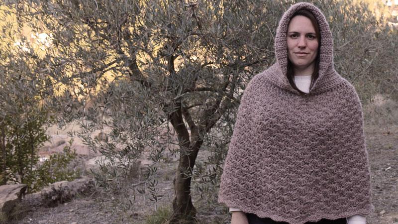 poncho hood free crochet pattern
