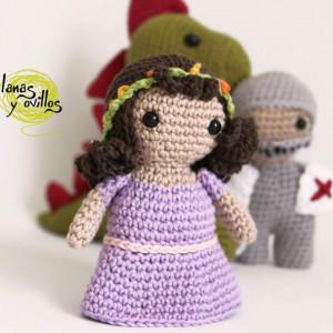 princess amigurumi knight crochet free pattern